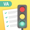 Permit Test Virginia VA DMV Driver License test Ed icon