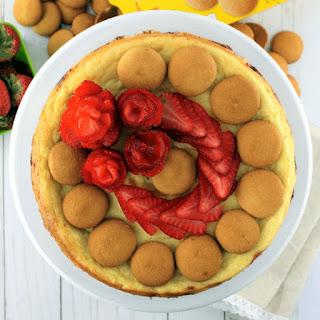 Strawberry and NILLA Wafer Layered Cheesecake Recipe