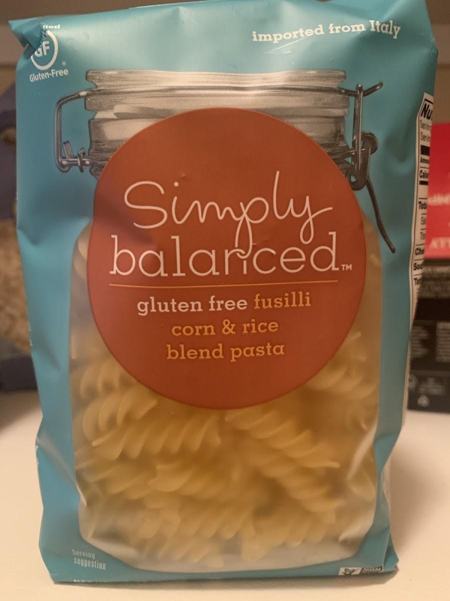 Gluten Free Fusilli Corn And Pasta