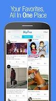 Screenshot of MyFvs: Follow Your Favs