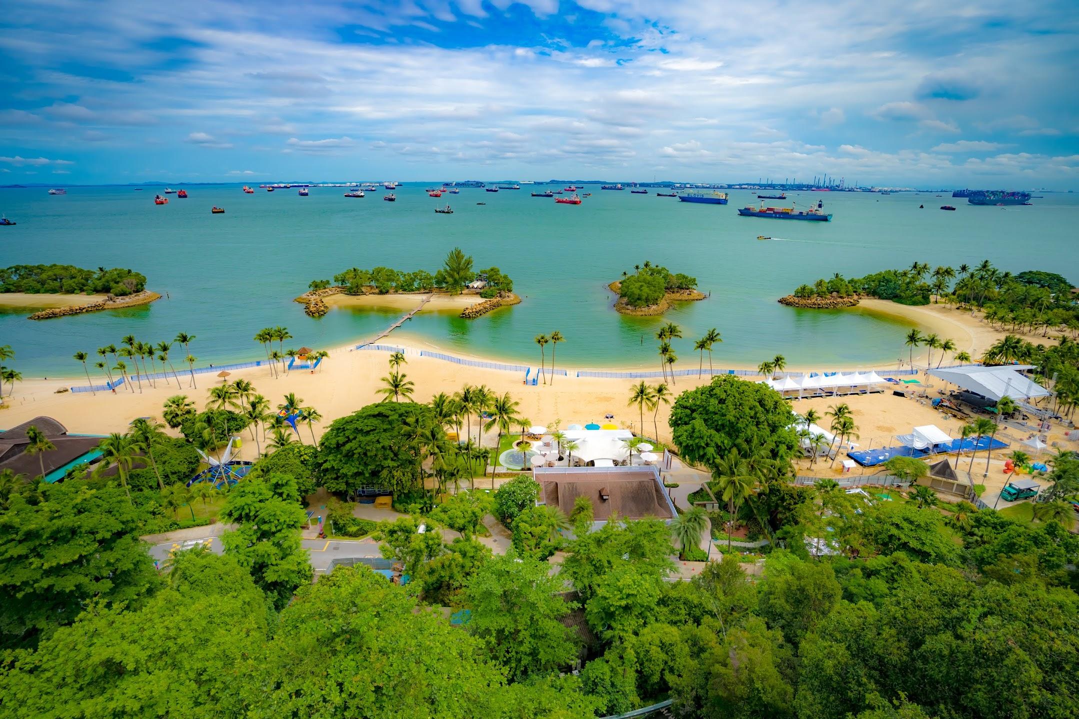 シンガポール セントーサ シロソビーチ