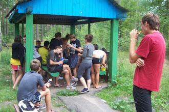 Photo: Первый хавчик после Коростышева (уже в Белоруссии)