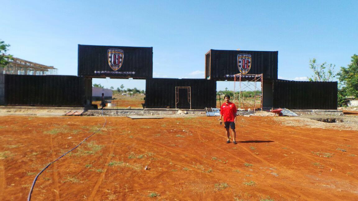 The Bali United football academy(still in progress)