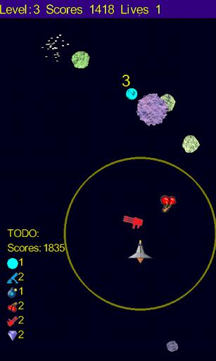 Crazy Asteroids 1.0 screenshots 3