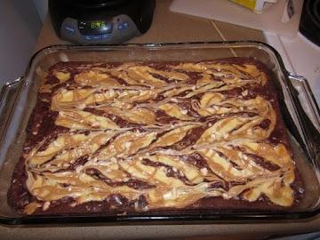 Cheesecake Peanut Butter Brownies W/ Graham Crust Recipe