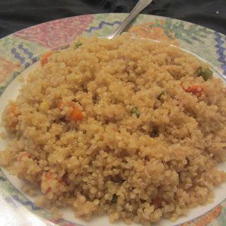 Spicy Quinoa.