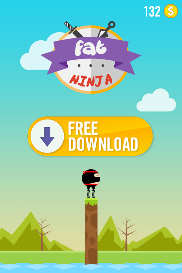 Fat Ninja- screenshot