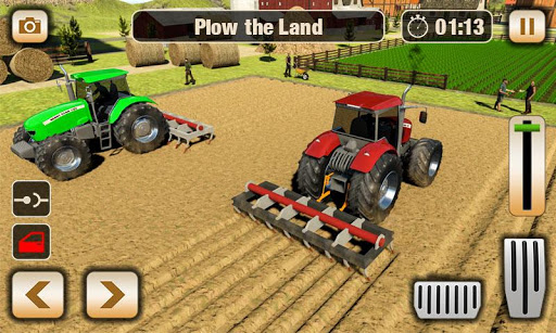 Real Tractor Driver Farm Simulator -Tractor Games 1.2 screenshots 1