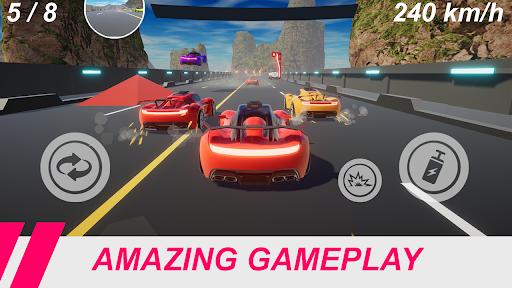 Velocity Legends - Crazy Car Action Racing Game screenshot 5
