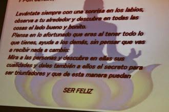 Photo: SER FELIZ