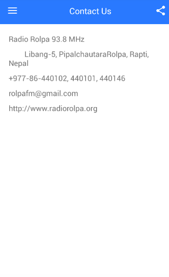 Radio Rolpa- screenshot