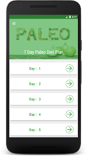 Paleo Diet Plan - 7 Day | 7 Day Paleo Meal Plan- screenshot thumbnail