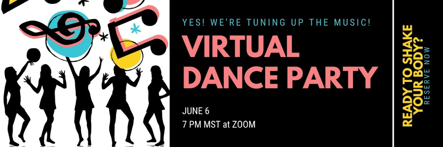 Q-sunshine... Virtual Dance Party!