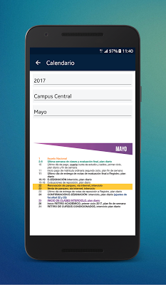 Universidad Rafael Landívar - screenshot