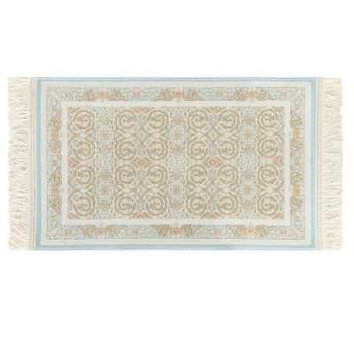 Ковёр 0.50х0.80 исфахан 2004 блю Ковровые галереи