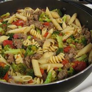 Broccoli Sausage Simmer