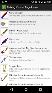 Fishing knots angelknoten android apps auf google play for Fishing knots app