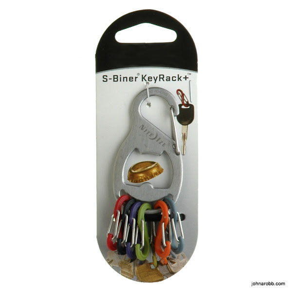 Photo: Keyrack keychain and bottle opener.  Easily remove keys from the keychain.