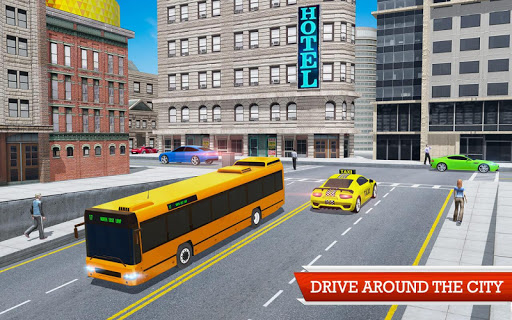 Coach Bus Simulator Game screenshot 2
