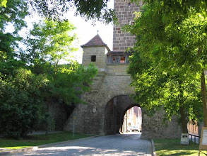 Photo: Rothenburg - Walled City entrance