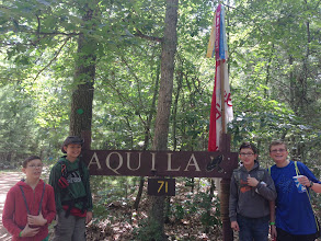 Photo: Aquila was the best campsite - centrally located to most things.  I don't know who or how much Mrs. Gallup paid, but it was worth it!!