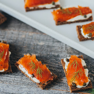 Bourbon Cured Salmon