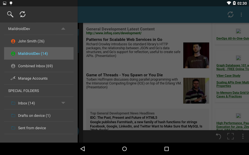 MailDroid Pro - Email Application Screenshot 11