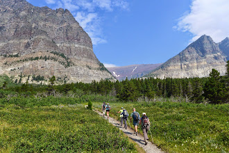 Photo: Friday - hike to Appekunny Falls (also near Many Glacier in the Swiftcurrent Valley)