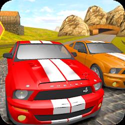 Mustang Driving Car Race