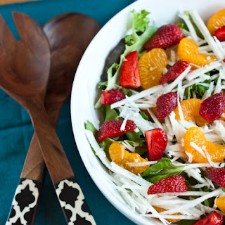 Jicama Strawberry Summer Salad