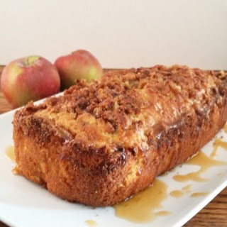 Caramel Apple Fritter Bread