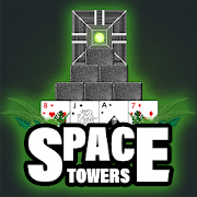 Space Three Towers Solitaire icon