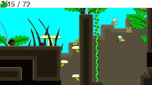 Caterpillar's Micro Adventure Demo  captures d'écran 1