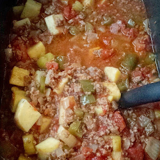 Slow Cooker Hamburger Stew.