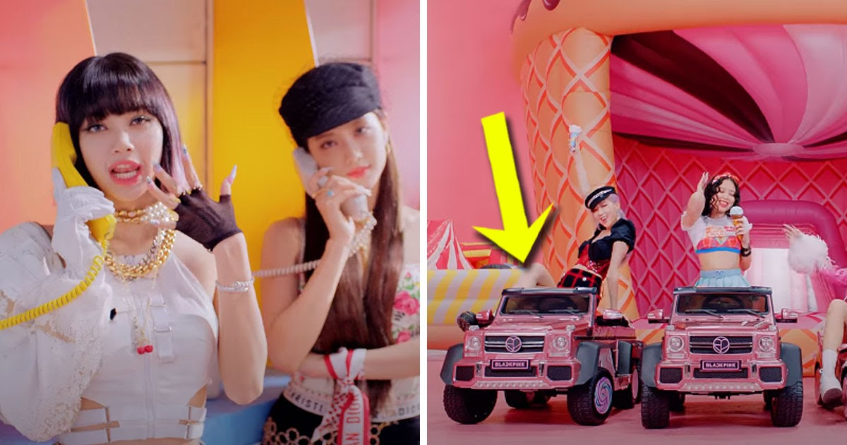 6 Things You Might Not Have Noticed In Blackpink S Ice Cream Mv