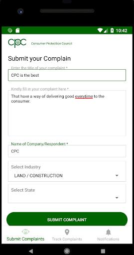 Consumer Protection Council (CPC) screenshot 2
