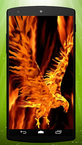 Fire Eagle Live Wallpaper