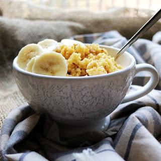 Maple Cinnamon Millet Porridge