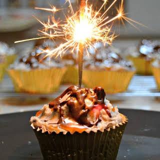 Volcano Cupcakes.