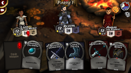Traitors Empire Card RPG screenshots 2