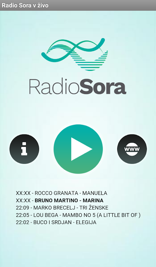 Radio Sora- screenshot
