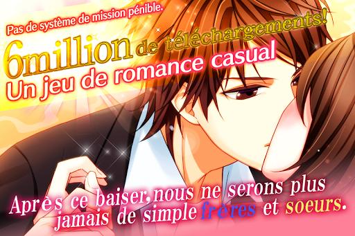 Otome games(jeux) en franu00e7ais - L'Amour Interdit  captures d'u00e9cran 1