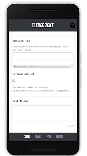 Free Text Message- screenshot thumbnail