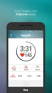 Formyfit Personalised Running training plan &coach- screenshot thumbnail