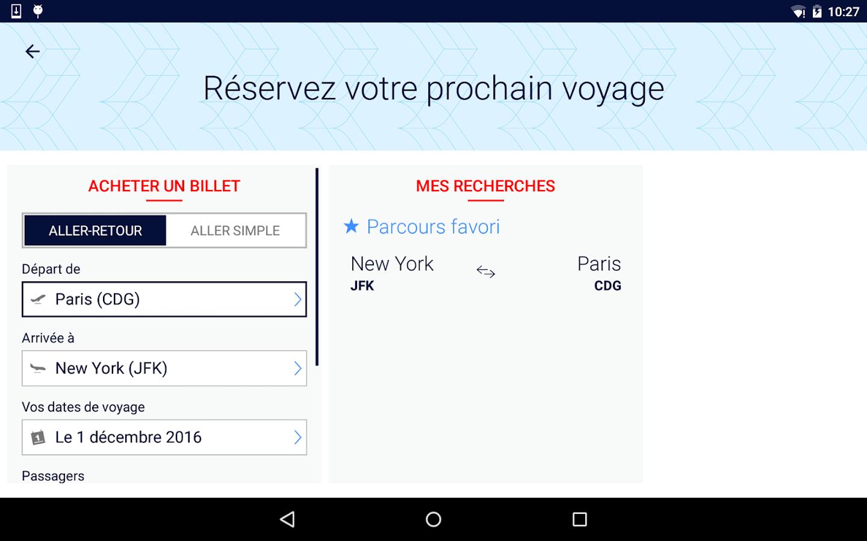 air france billets d 39 avion applications android sur google play. Black Bedroom Furniture Sets. Home Design Ideas
