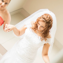by Christopher van Heerden - Wedding Bride