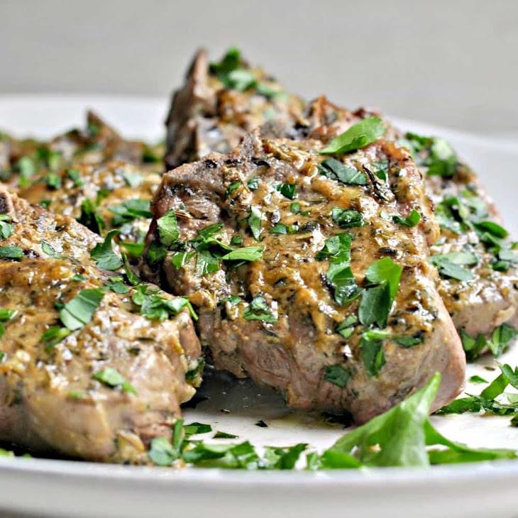 Roasted Lamb Chops Recipe