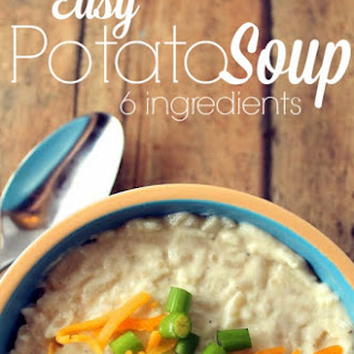 6-Ingredient Cheesy Potato Soup.