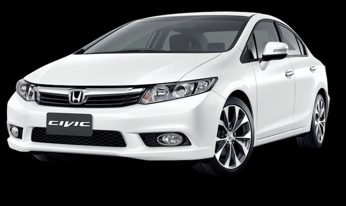 Honda Civic FB ปี 2012-2016