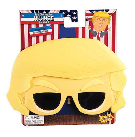 Glasögon, Trump